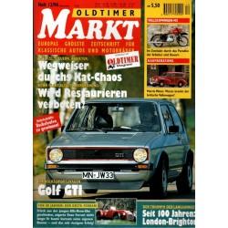 Oldtimer Markt Heft 12/Dezember 1996 - Golf GTI