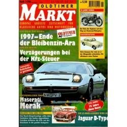 Oldtimer Markt Heft 11/November 1996 - Maserati Merak