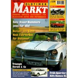 Oldtimer Markt Heft 10/Oktober 1994 - Triumph Herald & Co