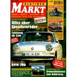 Oldtimer Markt Heft 10/Oktober 1996 - BMW 700