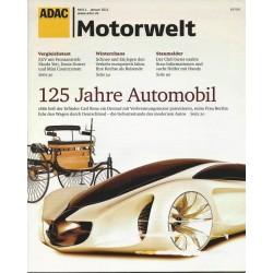 ADAC Motorwelt Heft.1 / Januar 2011 - 125 Jahre Automobil