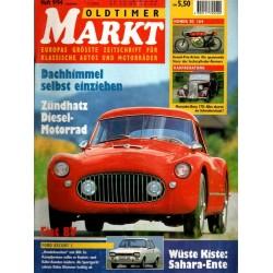 Oldtimer Markt Heft 9/September 1994 - Fiat 8V