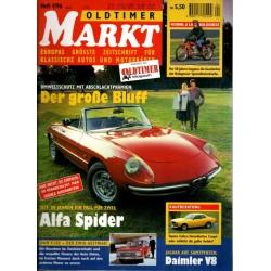 Oldtimer Markt Heft 4/April 1996 - Alfa Spider