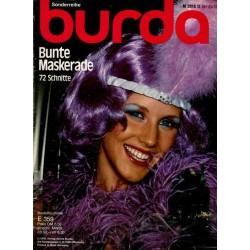 burda Sonderreihe 1976 - Bunte Maskerade