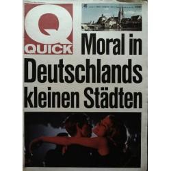 Quick Heft Nr.45 / 7 November 1965 - Moral in Deutschlands...