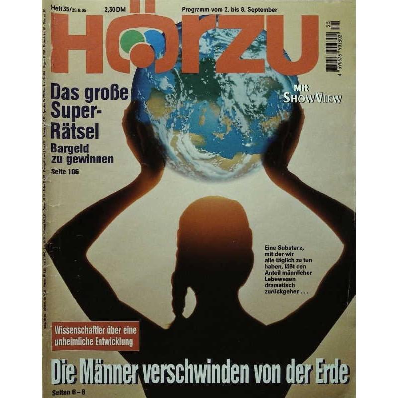 HÖRZU 35 / 2 bis 8 September 1995 - Die Männer...