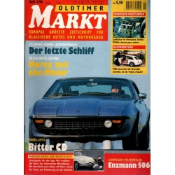Oldtimer Markt Heft 1/Januar 1996 - Bitter CD