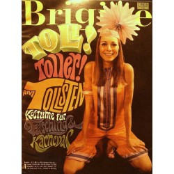 Brigitte Heft 1 / 2 Januar 1968 - Fasching & Karneval