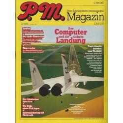 P.M. Ausgabe Februar 2/1986 - Der Computer & die sichere Landung