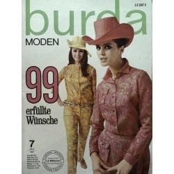burda Moden 7/Juli 1967 - 99 erfüllte Wünsche