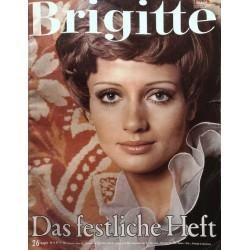 Brigitte Heft 26 / 19 Dezember 1967 - Das festliche Heft