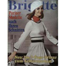 Brigitte Heft 9 / 23 April 1968 - Pariser Modelle