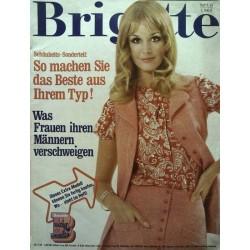 Brigitte Heft 9 / 23 April 1968 - Extra Modell