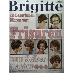 Brigitte Heft 14 / 4 Juli 1967 - Frisuren