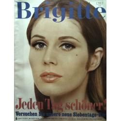 Brigitte Heft 6 / 12 März 1968 - Jeden Tag schöner! mit Gudrun