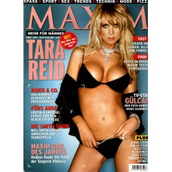 Maxim März 2005 - Tara Reid