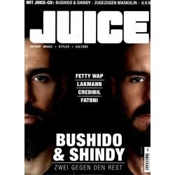 JUICE Nr.171 November/Dezember 2016 & CD 132 - Bushido & Shindy