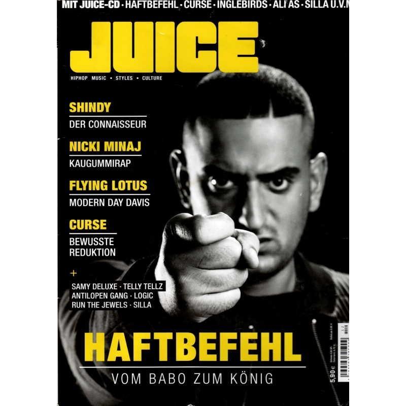 JUICE Nr.163 November/Dezember 2014 & CD 125 - Haftbefehl