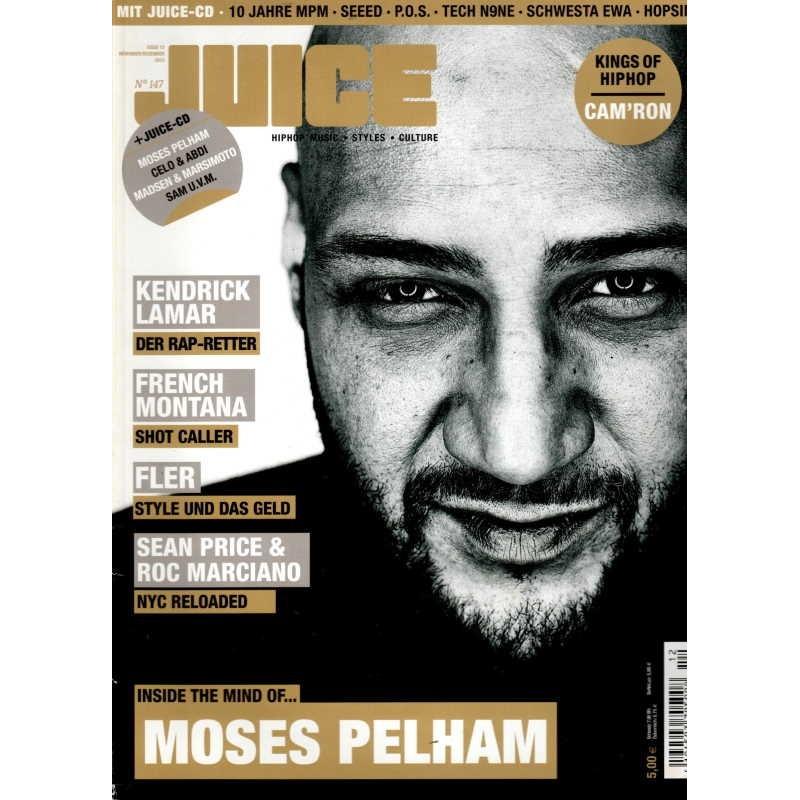 JUICE Nr.147 November/Dezember 2012 & CD - Moses Pelham