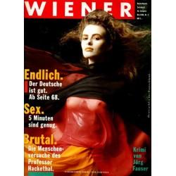 Wiener Heft Nr.5 / Mai 1986 - Flagghelferin Sabine Stoffl