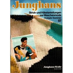 Junghans Frühjahr-Sommer 1987 - Maschenmode
