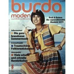 burda Moden 3/März 1977 - Rock & Bolero