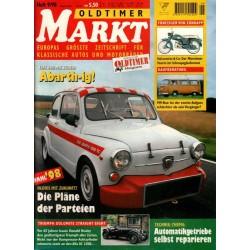 Oldtimer Markt Heft 9/September 1998 - Fiat 600