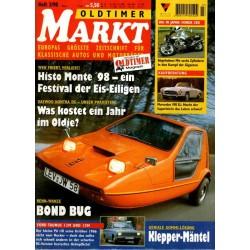 Oldtimer Markt Heft 3/März 1998 - Bond Bug
