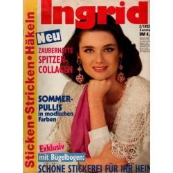 Ingrid Sommer 2/1993 - Spitzen Collagen