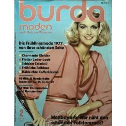 burda Moden 2/Februar 1977 - Die Frühlingsmode