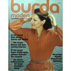 burda Moden 8/August 1976 - Kleider elegant & nähleicht