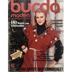 burda Moden 10/Oktober 1976 - Wintermode