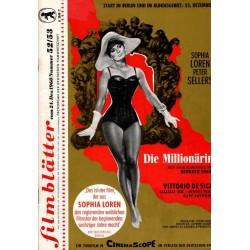 Filmblätter 52/53 vom 24 Dezember 1960 - Sophia Loren