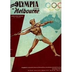 Gerhard Bahr Nr.6 / 4 Dezember 1956 - Olympia Melbourne