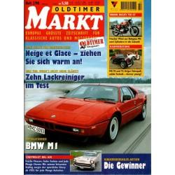 Oldtimer Markt Heft 2/Februar 1998 - BMW M1