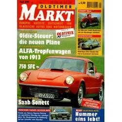 Oldtimer Markt Heft 5/Mai 1997 - Saab Sonett