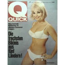 Quick Heft Nr.4 / 23 Januar 1966 - Maria Brockerhoff