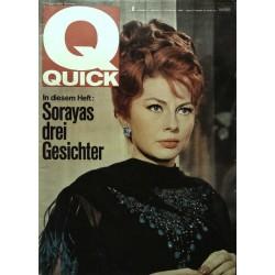 Quick Heft Nr.8 / 21 Februar 1965 - Sorayas drei Gesichter