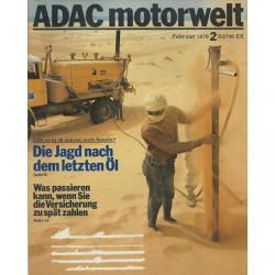 ADAC Motorwelt Heft.2 / Februar 1978 - Die Jagd nach dem letzten Öl