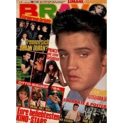 BRAVO Nr.4 / 17 Januar 1985 - Elvis Presley