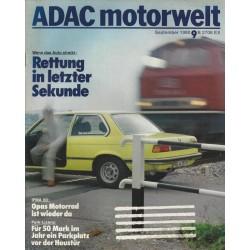 ADAC Motorwelt Heft.9 / September 1980 - Rettung in letzter Sekunde