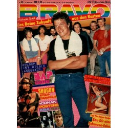 BRAVO Nr.42 / 14 Oktober 1982 - BAP Wolfgang Niedecken