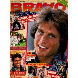 BRAVO Nr.35 / 26 August 1982 - Leigh McCloskey