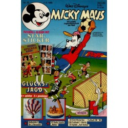 Micky Maus Nr. 20 / 11 Mai 1988 - Star Sticker
