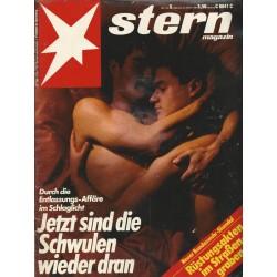 stern Heft Nr.5 / 26 Januar 1984 - Jetzt sind die Schwulen wieder dran