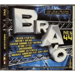 Bravo Hits 44 / 2 CDs - Black Eyed Peas, Britney Spears...