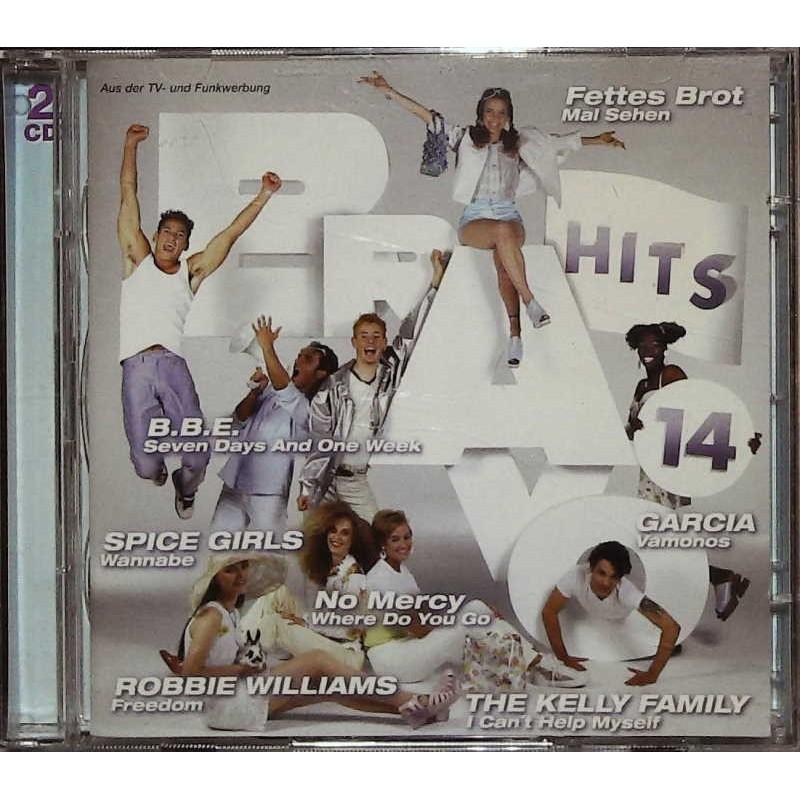 Bravo Hits 14 / 2 CDs - B.B.E., Spice Girls, No Mercy...