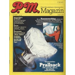 P.M. Ausgabe April 4/1986 - Prallsack (Airbag)