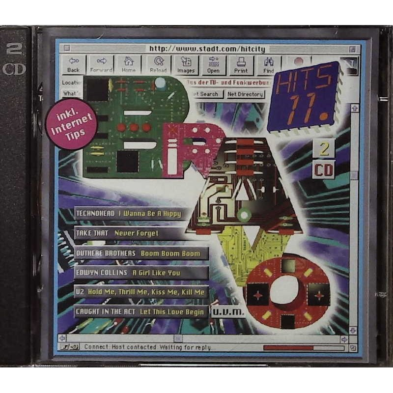 Bravo Hits 11 / 2 CDs - Technohead, Take That, U2...