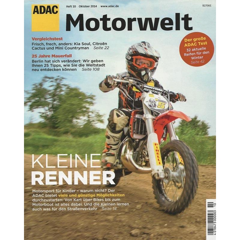 ADAC Motorwelt Heft.10 / Oktober 2014 - Kleine Renner